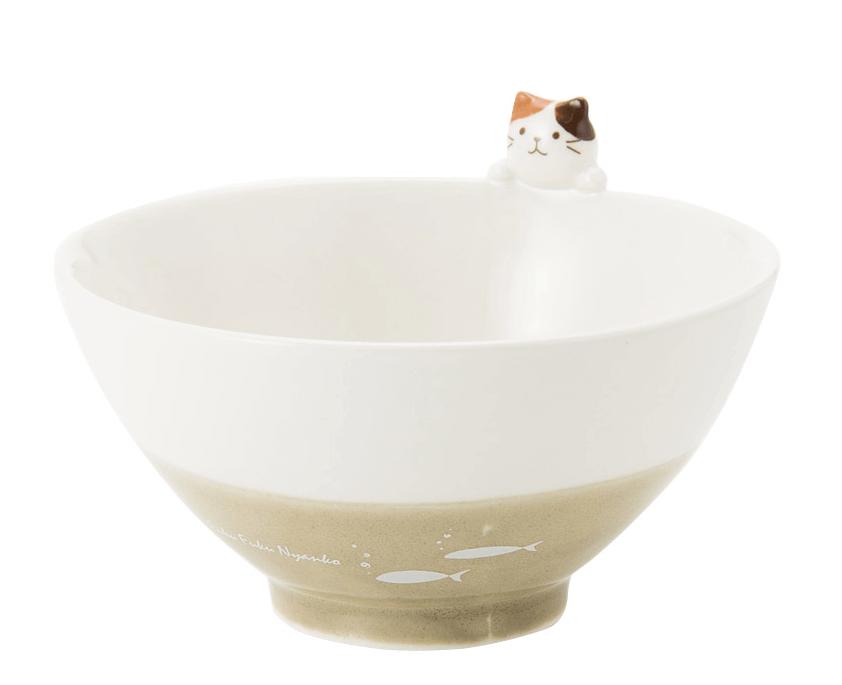Fuku Fuku にゃんこのおねだりマスコット茶碗 by HAPiNS(ハピンズ)