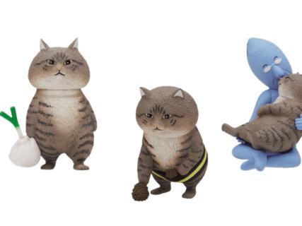 超リアルな猫マンガ「俺、つしま」のフィギュアと第2巻の発売が決定したニャ