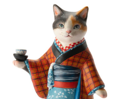 3,000点の猫アート作品を展示「猫都のアイドル展 at 百段階段」4/26から開催