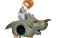 部屋の中がサファリパークに!?サイやゾウなど「サファリ」をテーマにした猫用品シリーズが誕生