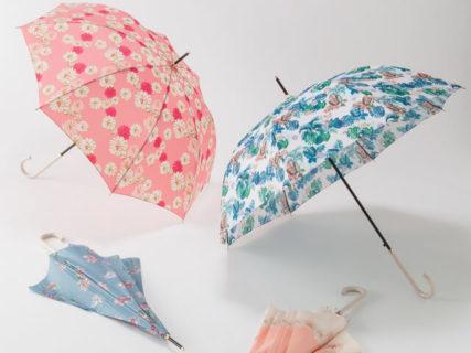 猫がこっそりと隠れたアイテムも♪ ポール&ジョー アクセソワが新しい傘&パラソルを発表
