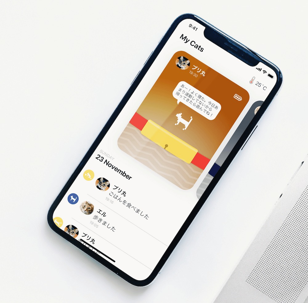 Catlog(キャトログ)のアプリ画面イメージ