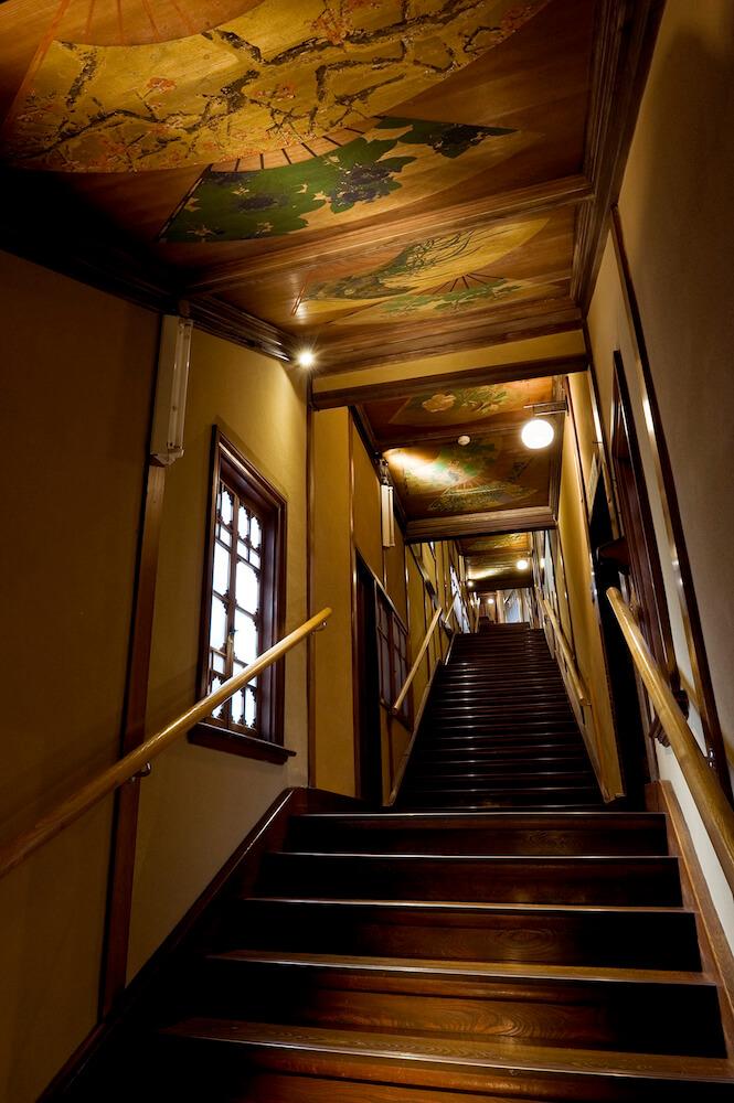 東京都の有形文化財「百段階段」