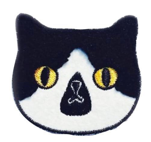 「superb studio」猫の美容室 刺繍ピン/540円