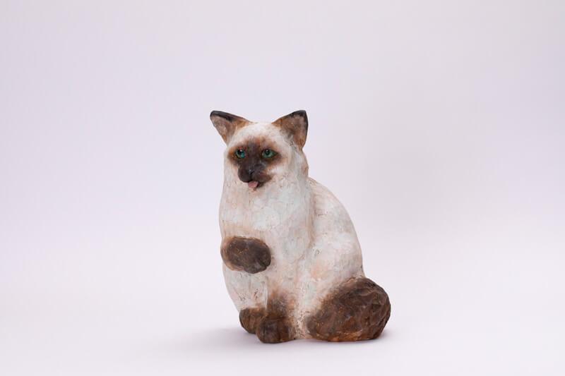 バーマンの彫刻作品 岩井りと「バーマン」