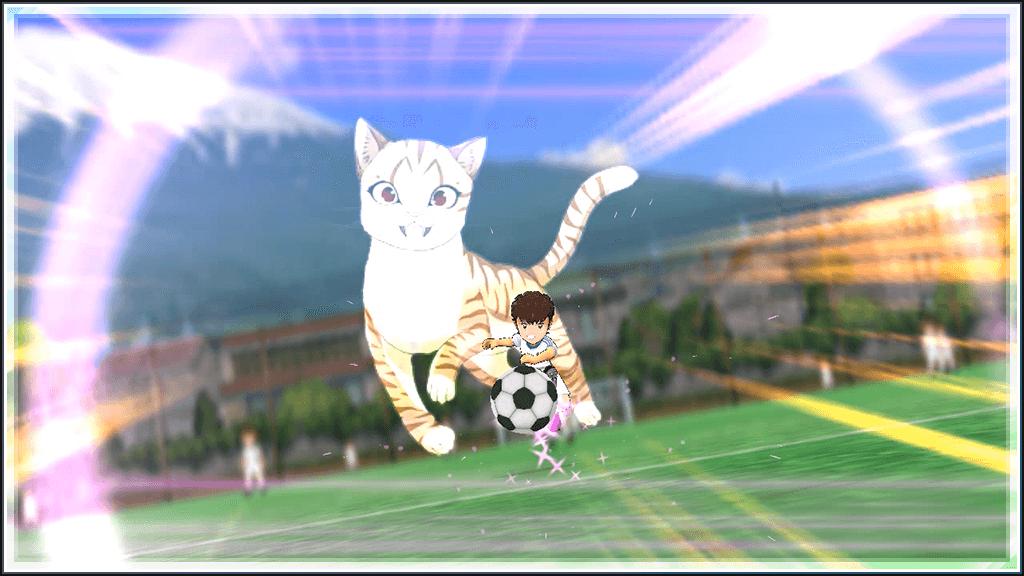 猫のようなシュートを打てるスキル「キャットショット」のイメージ by キャプテン翼ZERO
