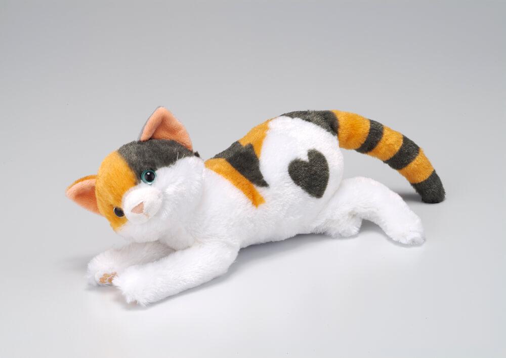 撫でると鳴くぬいぐるみ、なでなでねこちゃんDX2「三毛猫のオス」バージョン