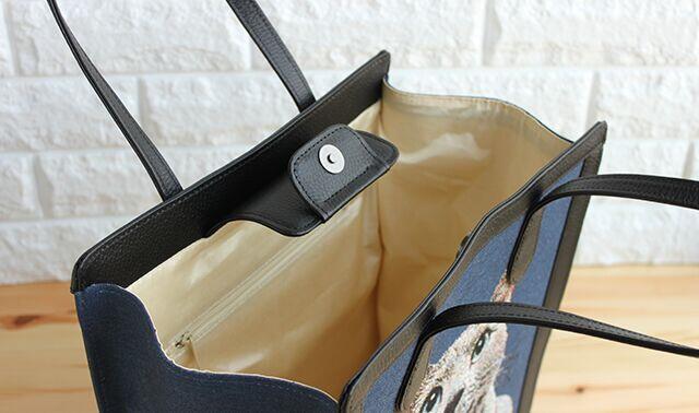 ハグペットのバッグの中身イメージ