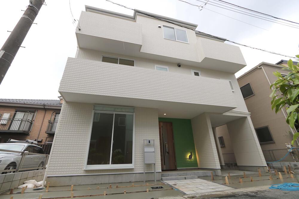 猫共生型分譲住宅「ichineko-川口市芝下」の外観