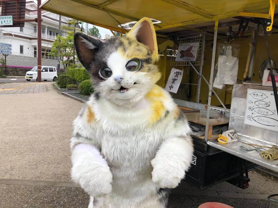 山田三毛猫さんことと、鳥取に出没する猫の焼き芋屋さん