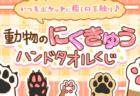 肉球フェチにはたまらニャイ、猫や犬など動物の肉球タオルが必ず当たる「くじフェス!」6/4まで販売中