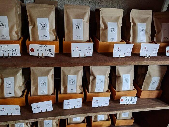 前橋市の紅茶店「紅茶のティーストアー」で販売されている紅茶