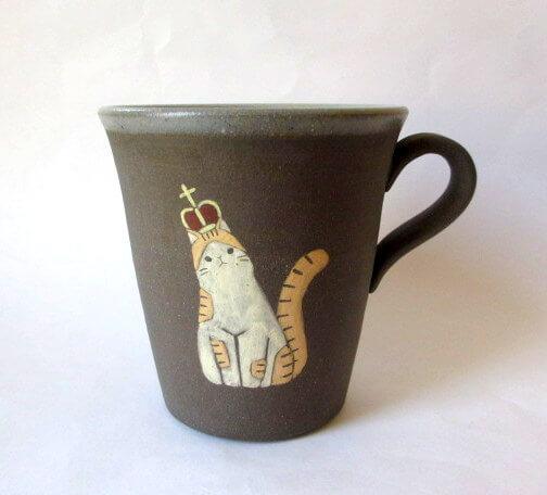 猫のマグカップ byつぐみ製陶所