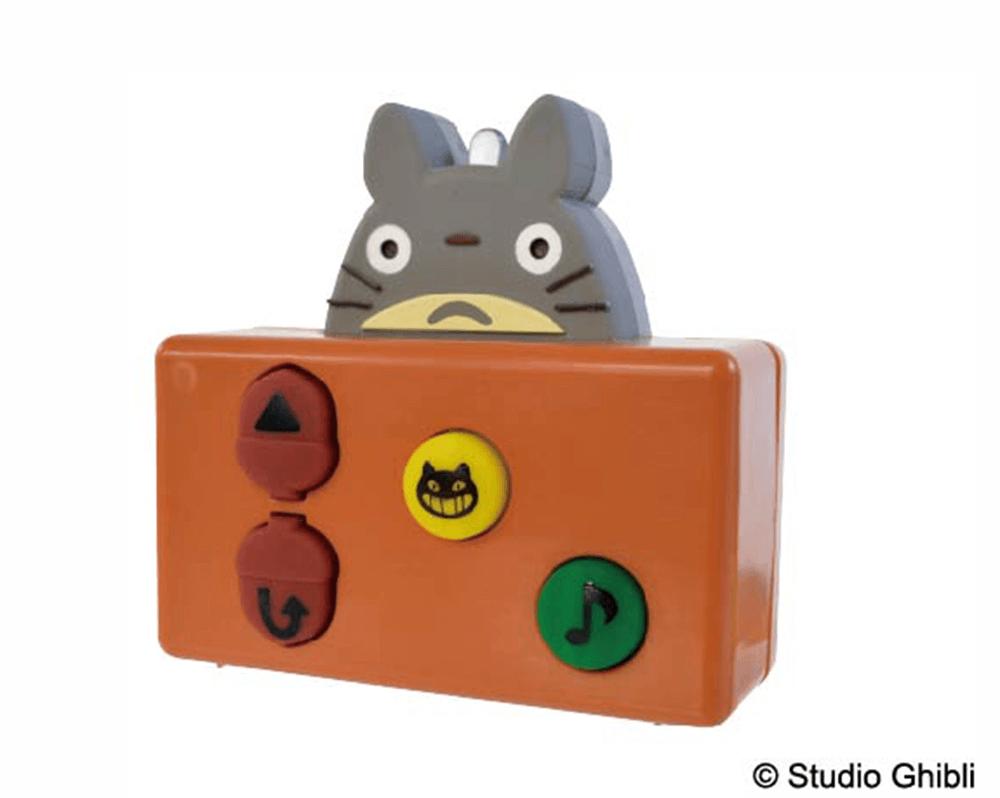 「はしるぞ!びゅんびゅんネコバス」のリモコン(トトロがデザイン)