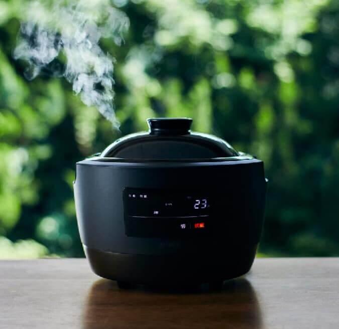 長谷園×シロカの全自動電気炊飯土鍋「かまどさん電気」