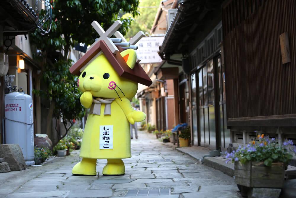 島根県の観光マスコットキャラクター「しまねっこ」