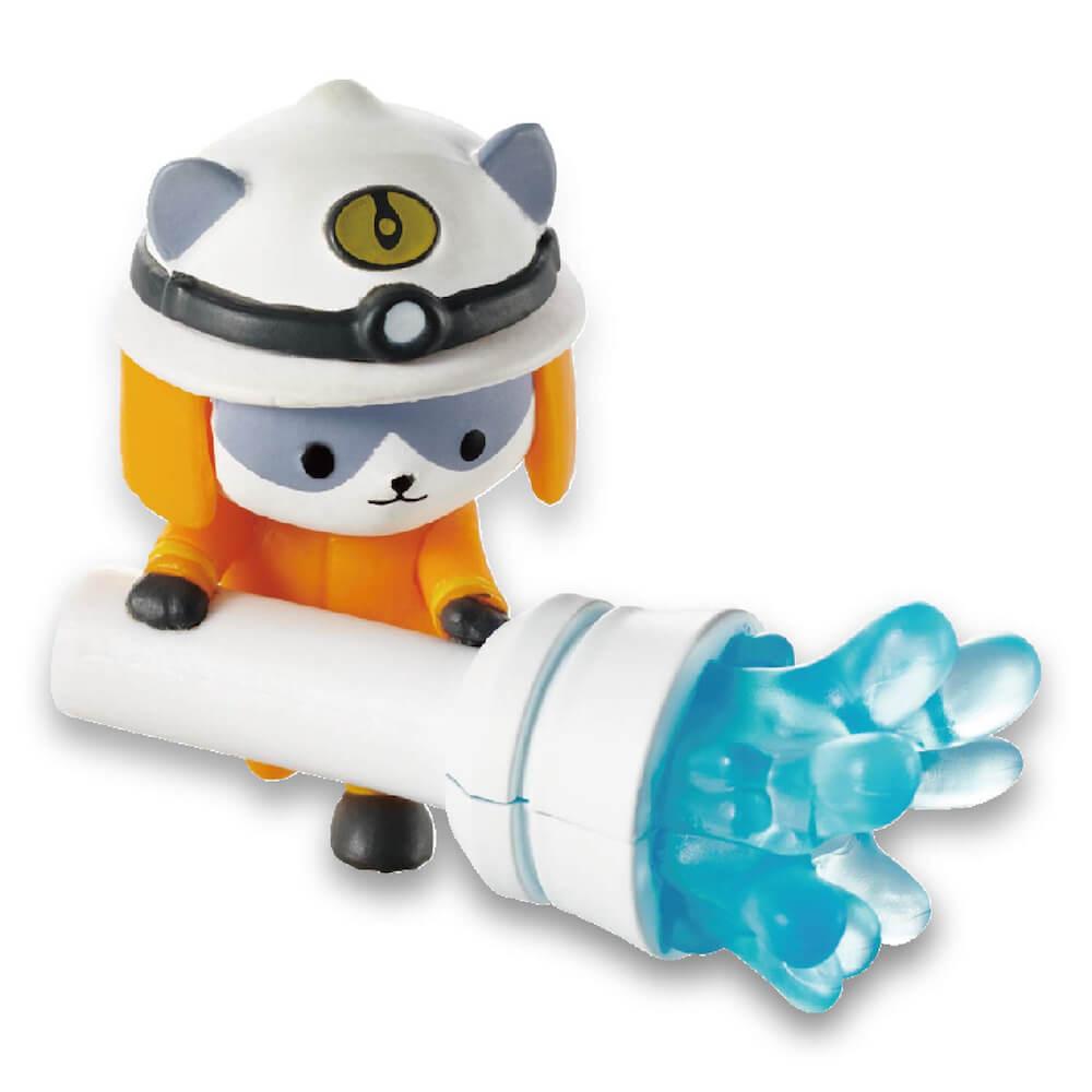 ケーブルフィギュア「スマホ冷却24時」のネコ製品イメージ(P-APLTD24CAT)