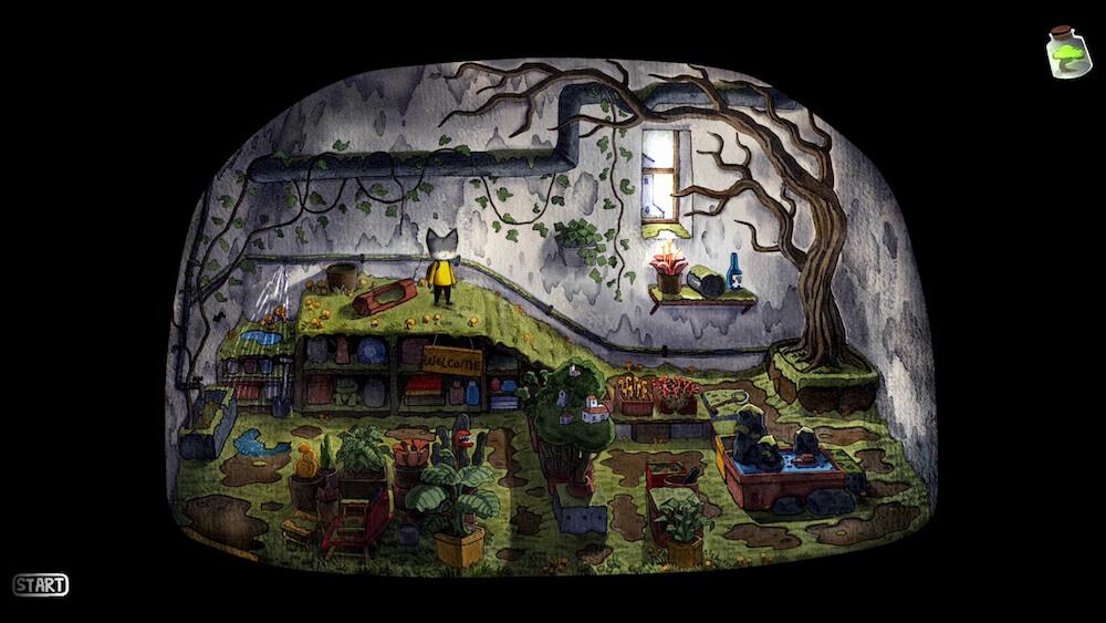 絵本の中のような世界観を表現したゲームグラフィック byRain City(レインシティ)