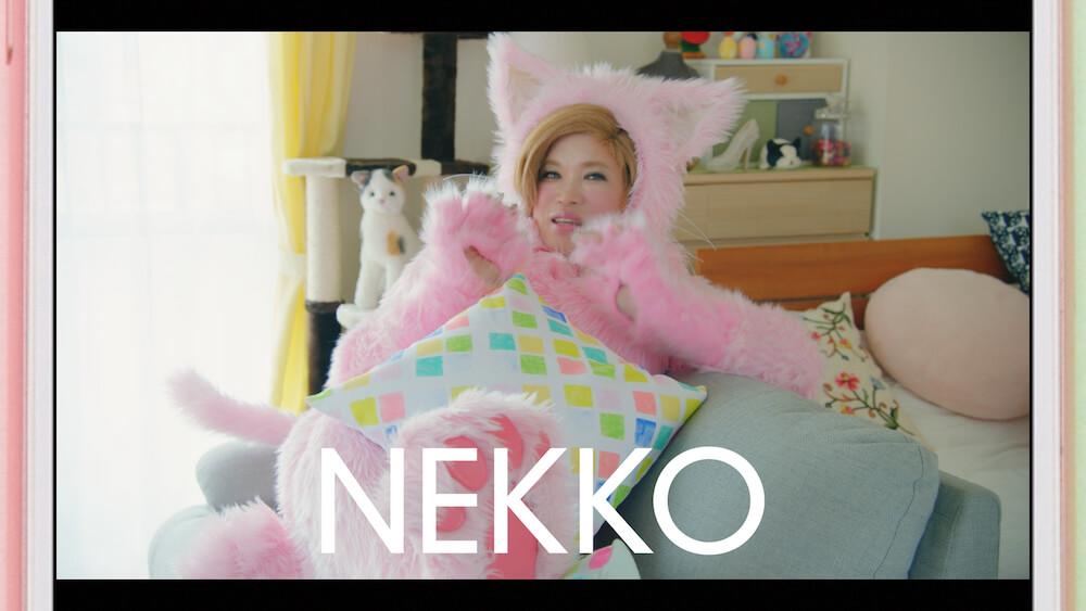 猫に変身したIKKOさんこと「NEKKOさん」 by スマカメのテレビCM「NEKKO」編