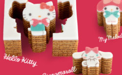 ハローキティやシナモロールが甘くて可愛いスイーツに!型ぬきバウム専門店「カタヌキヤ」