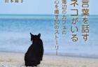 黒猫のひと言が疲れてしまった人々の心を癒やしてくれる、新刊「カフェネコ☆ジャムの人生相談」