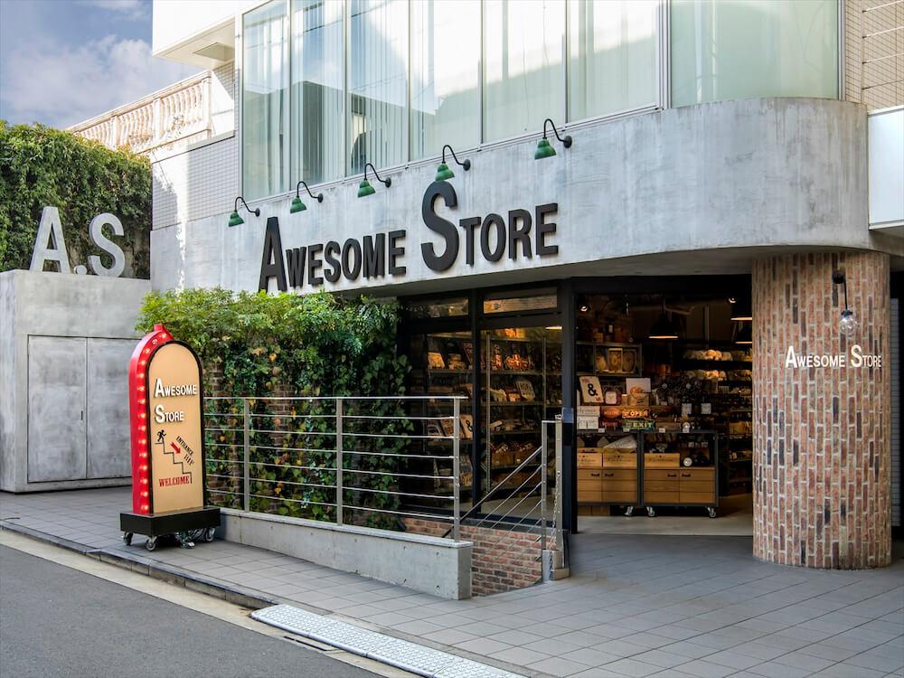 雑貨ブランドAWESOME STORE(オーサムストア)の店舗外観イメージ