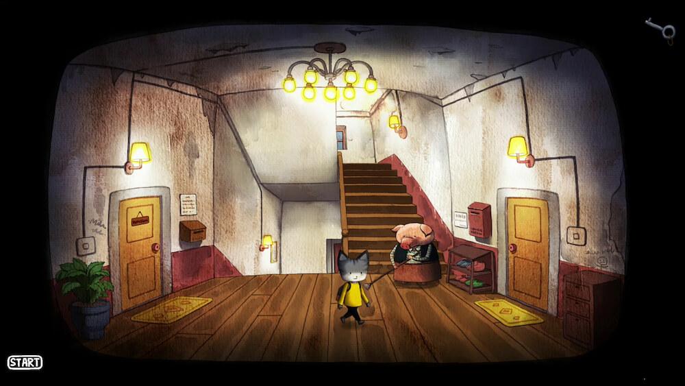 Rain City(レインシティ)のゲーム内マップ画面イメージ