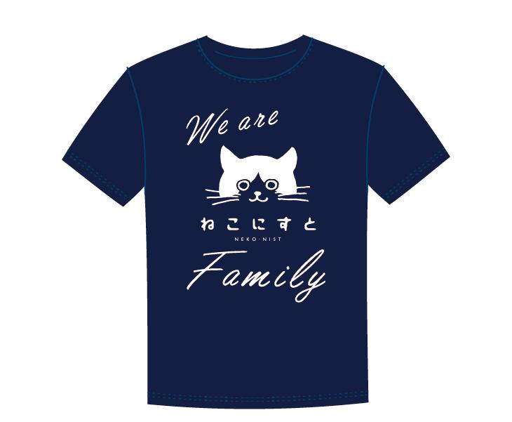 ねこにすとオリジナルTシャツ