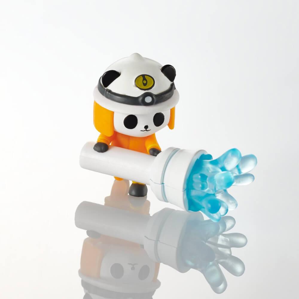 ケーブルフィギュア「スマホ冷却24時」のパンダ製品イメージ(P-APLTD24PAN)