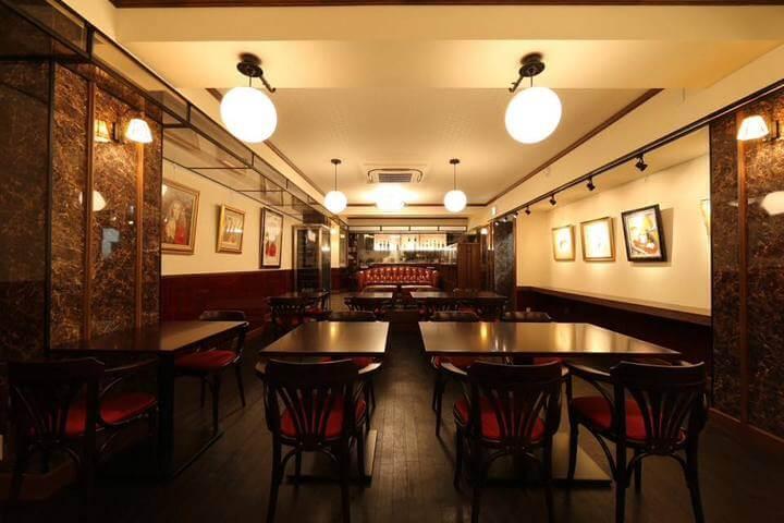 カフェ・シャトンルージュ(Café Chaton Rouge)の店内イメージ