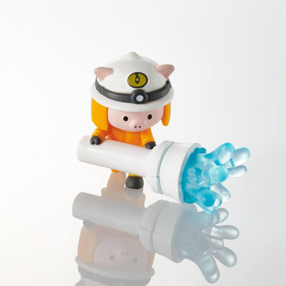 ケーブルフィギュア「スマホ冷却24時」のブタ製品イメージ(P-APLTD24PIG)