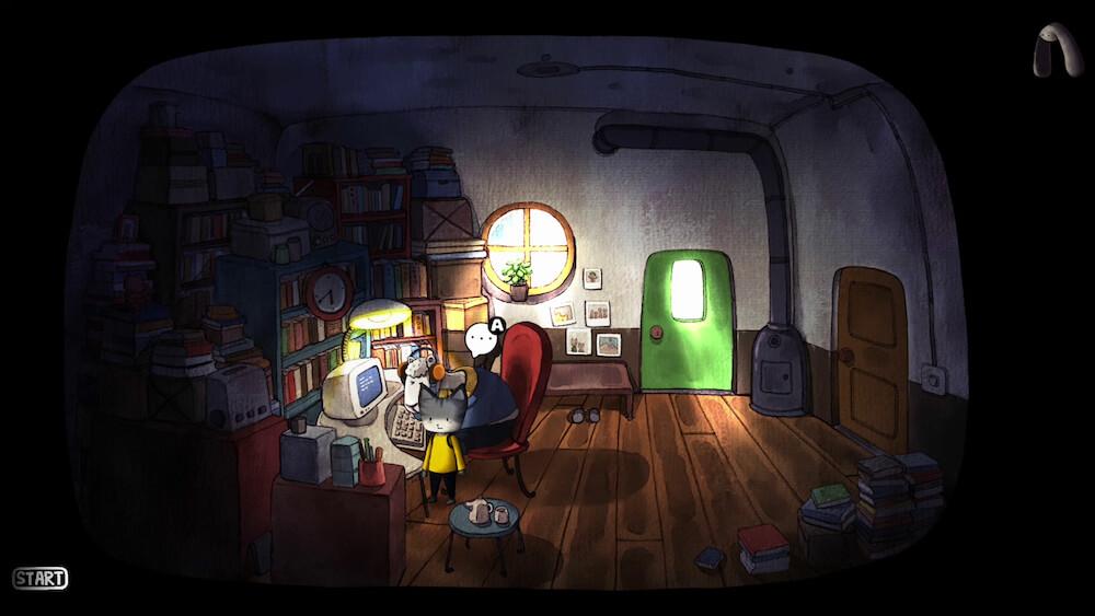 ゲーム「Rain City(レインシティ)」のプレイ画面イメージ