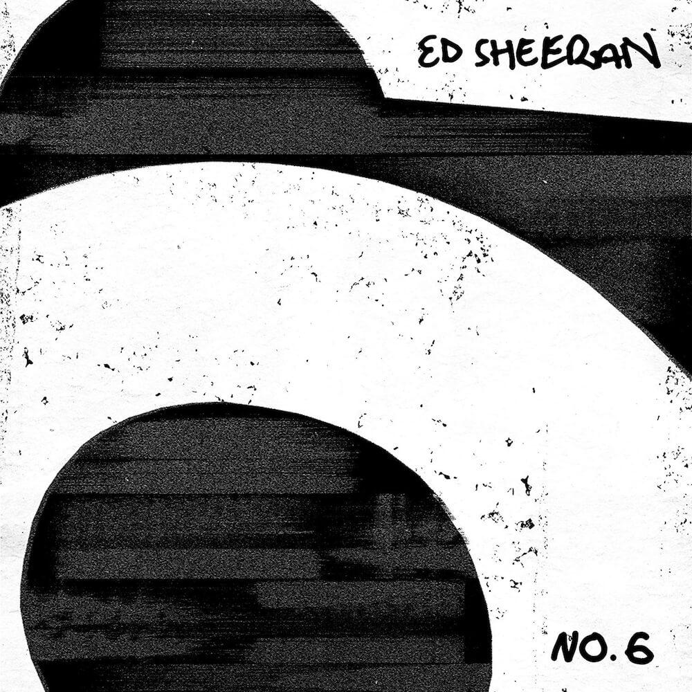 エド・シーランの新作コラボアルバム「No.6 コラボレーションズ・プロジェクト」のジャケット