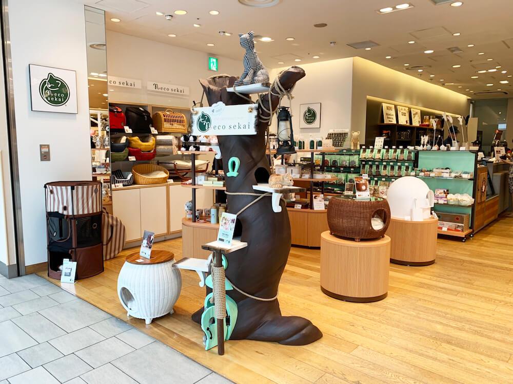 necosekai(ネコセカイ)の期間限定ショップ 店舗入口イメージ
