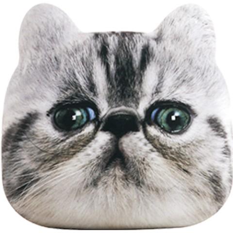 猫のモバイルバッテリー「にゃんこチャージ」タイガーキャットのデザイン