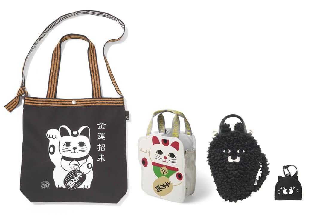招き猫のトートバッグ by ROOTOTE(ルートート)