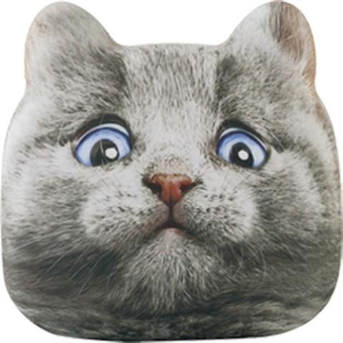 猫のモバイルバッテリー「にゃんこチャージ」ブルーアイズのデザイン