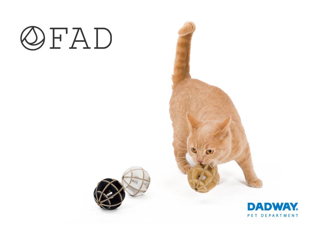 DADWAY(ダッドウェイ)オリジナルのペット用品ブランド「FAD(ファッド)」