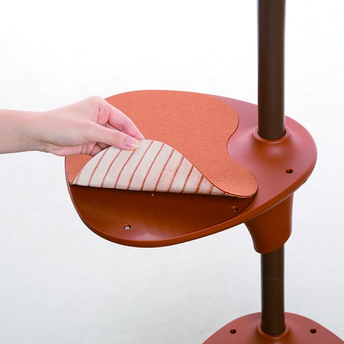 キャットタワー「OPPOキャットフォレスト」のステップ&滑り止めシート by ディノス「HOUSE STYLING」