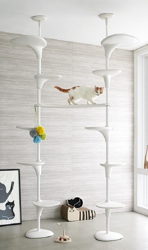 キャットタワー同士を繋げるパーツ「OPPOキャットフォレストパス」 by ディノス「HOUSE STYLING」