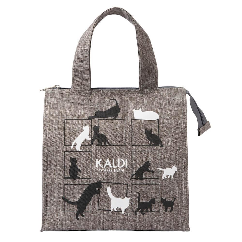 ネコバッグの製品イメージ by カルディの世界ネコの日記念