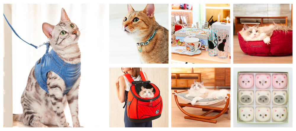 necosekai(ネコセカイ)で販売している猫用品イメージ