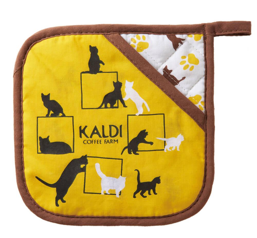 鍋敷き by カルディの夏のネコバッグ(世界ネコの日記念)
