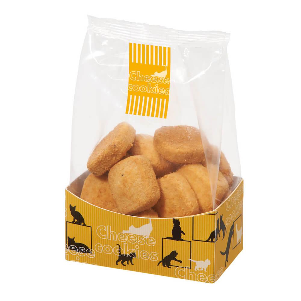カルディの猫チーズクッキー by 夏のネコバッグ(世界ネコの日記念)
