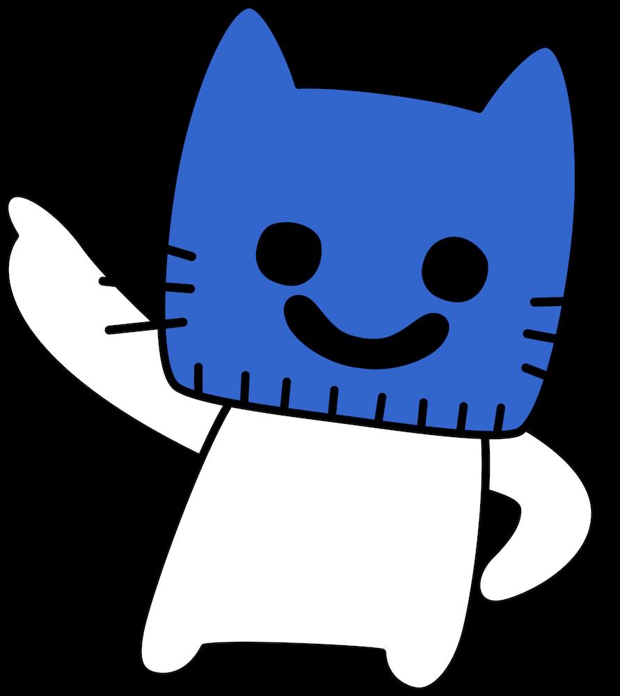 猫のVirtual YouTuber(バーチャルユーチューバー)「マスクにゃん」