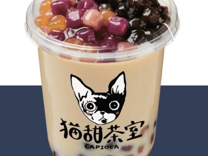 猫型カップのタピオカ専門店「猫甜茶室(ねこてんちゃしつ) capioca(カピオカ)」が大阪にオープン
