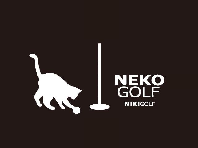 ゴルファー ネコ