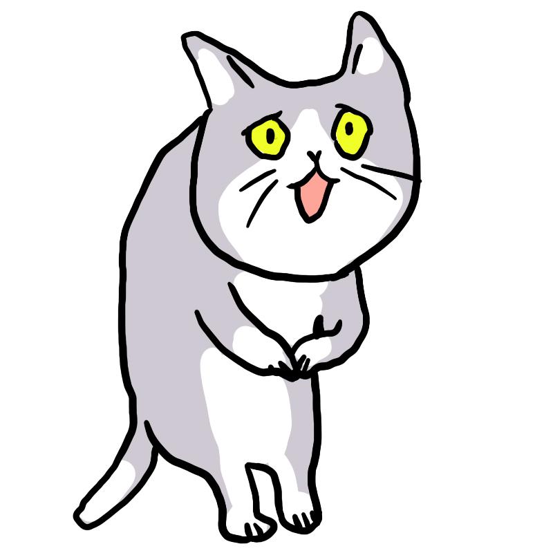 猫のイラスト作品「これからしかられるネコ」 by くまみね