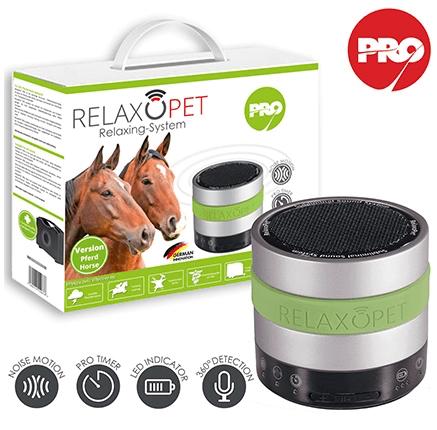 「RelaxoPet PRO (リラックス・オ・ペット プロ)」馬用バージョン