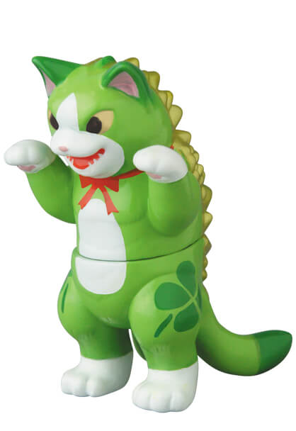 化猫怪獣ネゴラの「グリーン」バージョン by ガチャポス